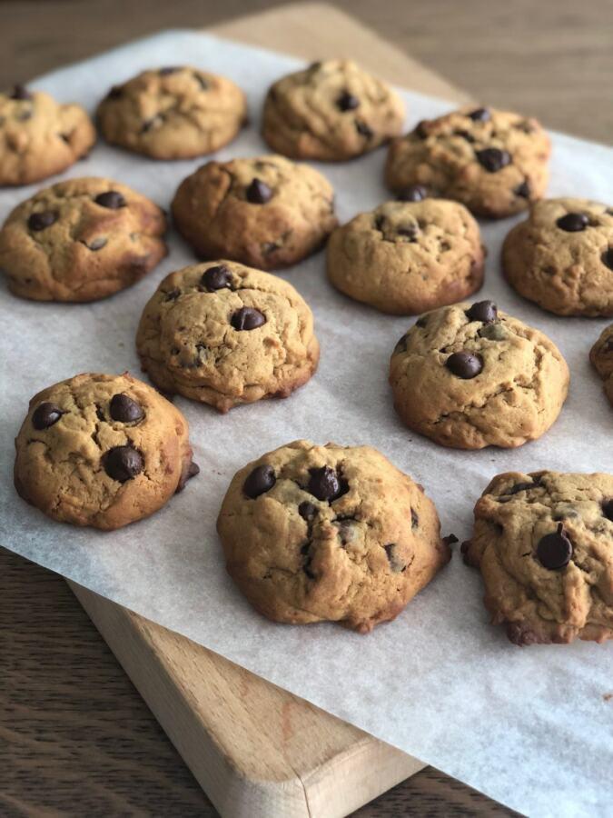 Palm sugar chocolate chip cookies