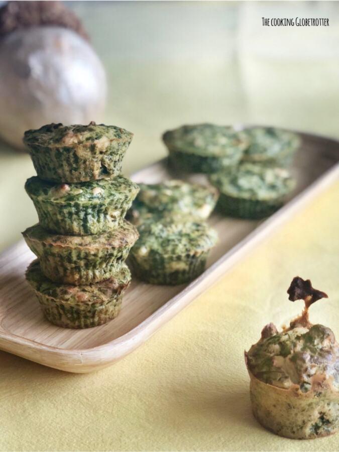 Recipe for savoury muffins