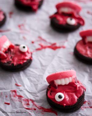 index featured halloween cookies vampire blood bites Oreo