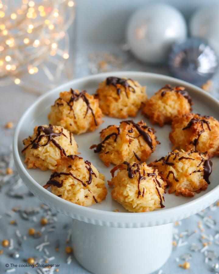 Coconut Macaroons Gluten Free Christmas Cookies