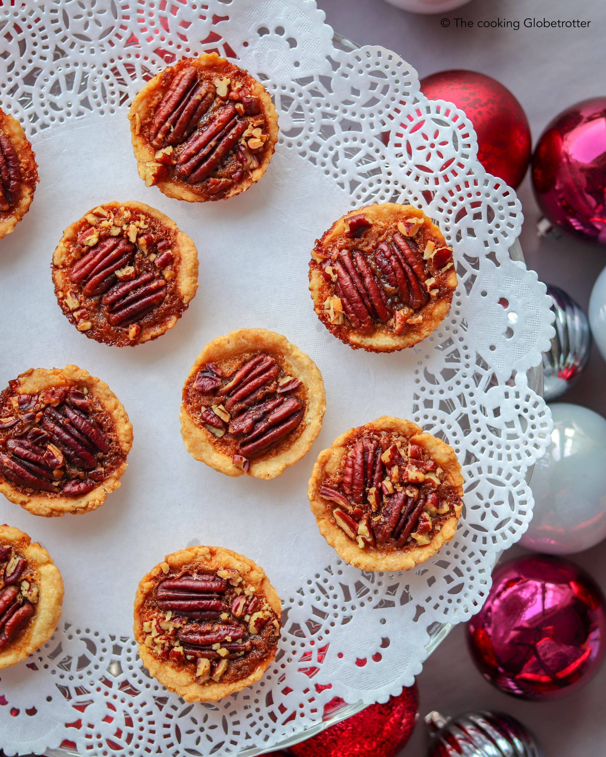 Index featured Mini Pecan Pies Christmas thanksgiving nuts sweets