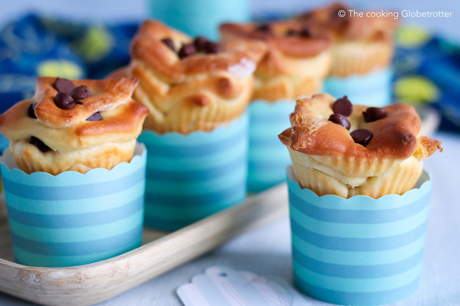 pull-apart muffins
