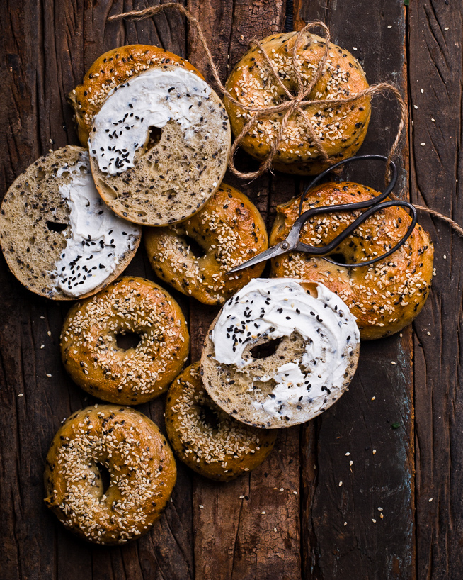 Easy recipe for bagels
