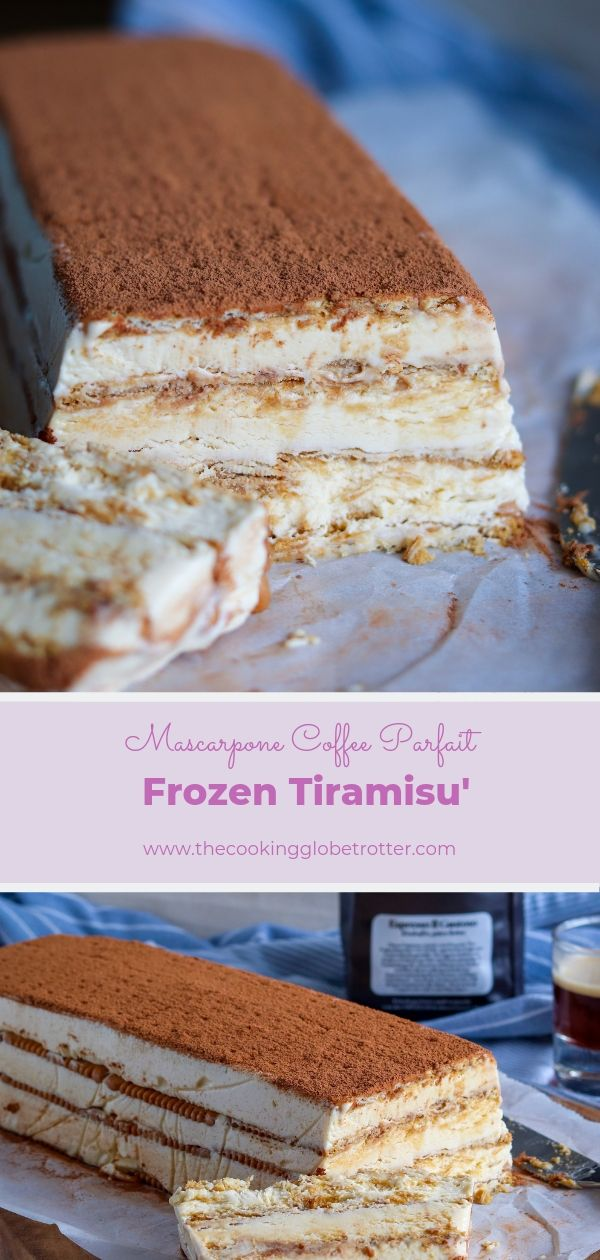 Frozen Tiramisu long pin