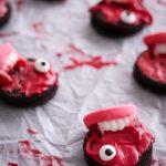 Feature index vampire blue gruselig cookies Kekse Oreo halloween