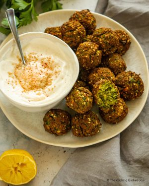 index featured falafel chickpeas hummus yogurt meze arabian