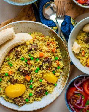 Index Featured kulinarische Reise Tansania Rindfleisch Pilau Tansania Gewürzreis Vera nyama