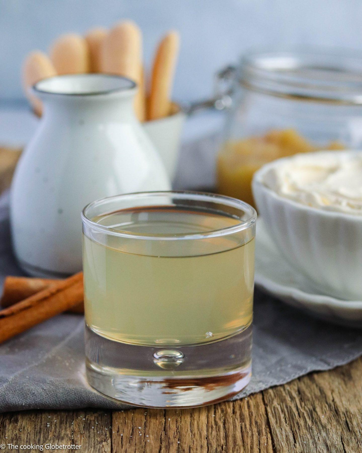Bild Apfeltiramisu, Rezept von The cooking Globetrotter, Sponsored by Verband der deutschen Fruchtsaft-Industrie